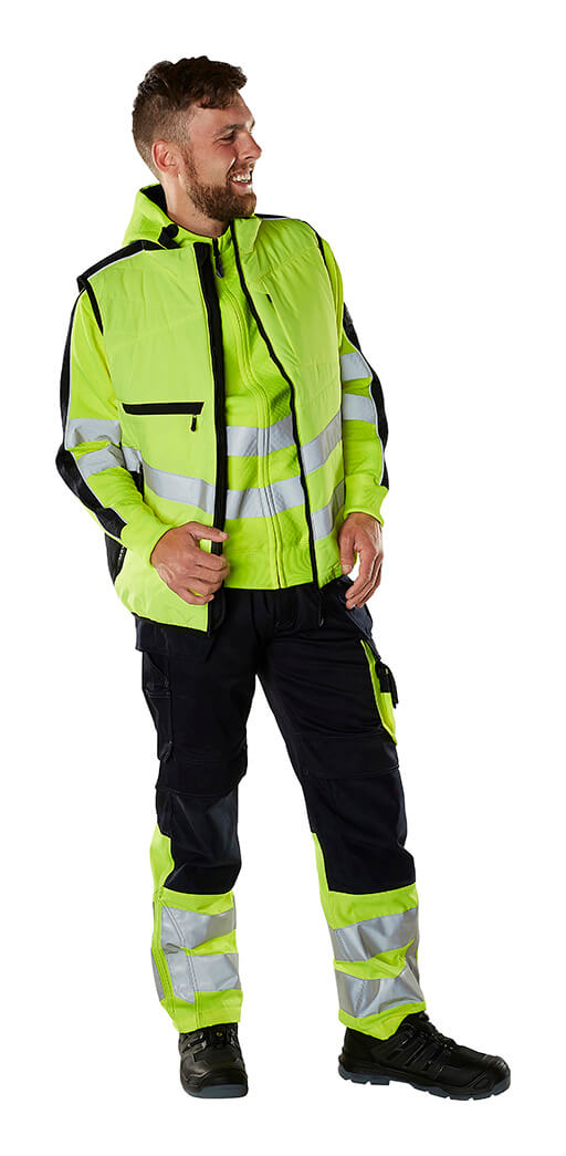 Gilet, Jumper & Work Pants - MASCOT® SAFE SUPREME - Fluorescent yellow - Model