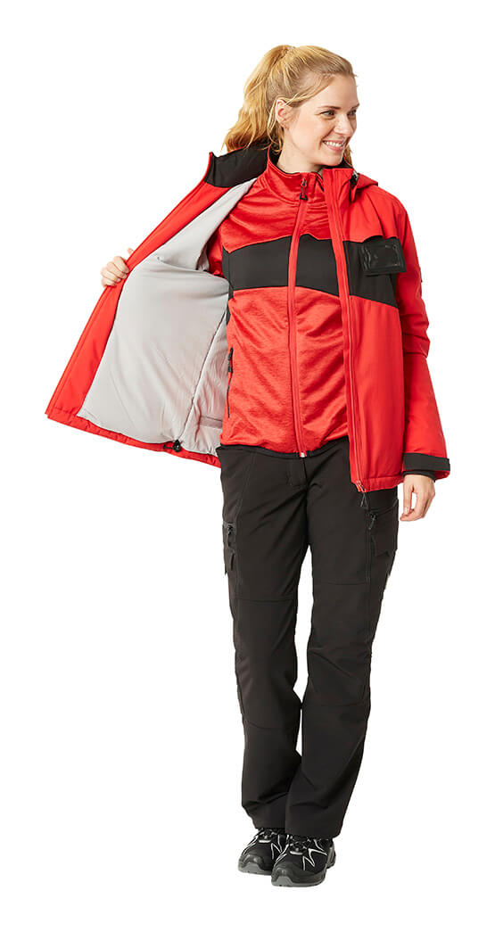 Red & Black - Winter Jacket & Pants - Woman - MASCOT® ACCELERATE