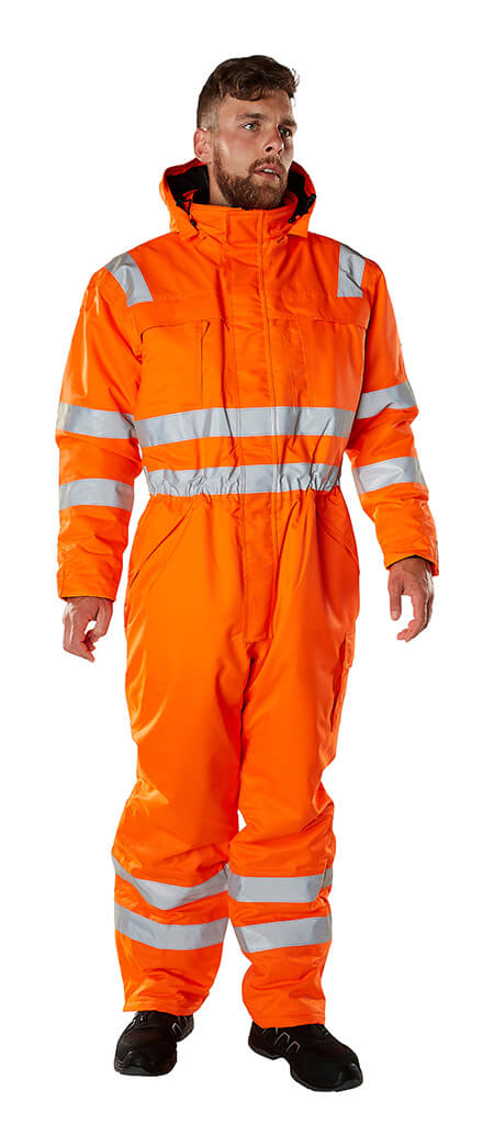 Model - Winter Boilersuit Fluorescent orange - MASCOT® SAFE ARCTIC