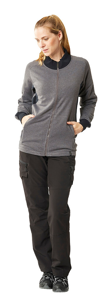 Grey & Black - Jumper for women & Pants - MASCOT® ACCELERATE - Model