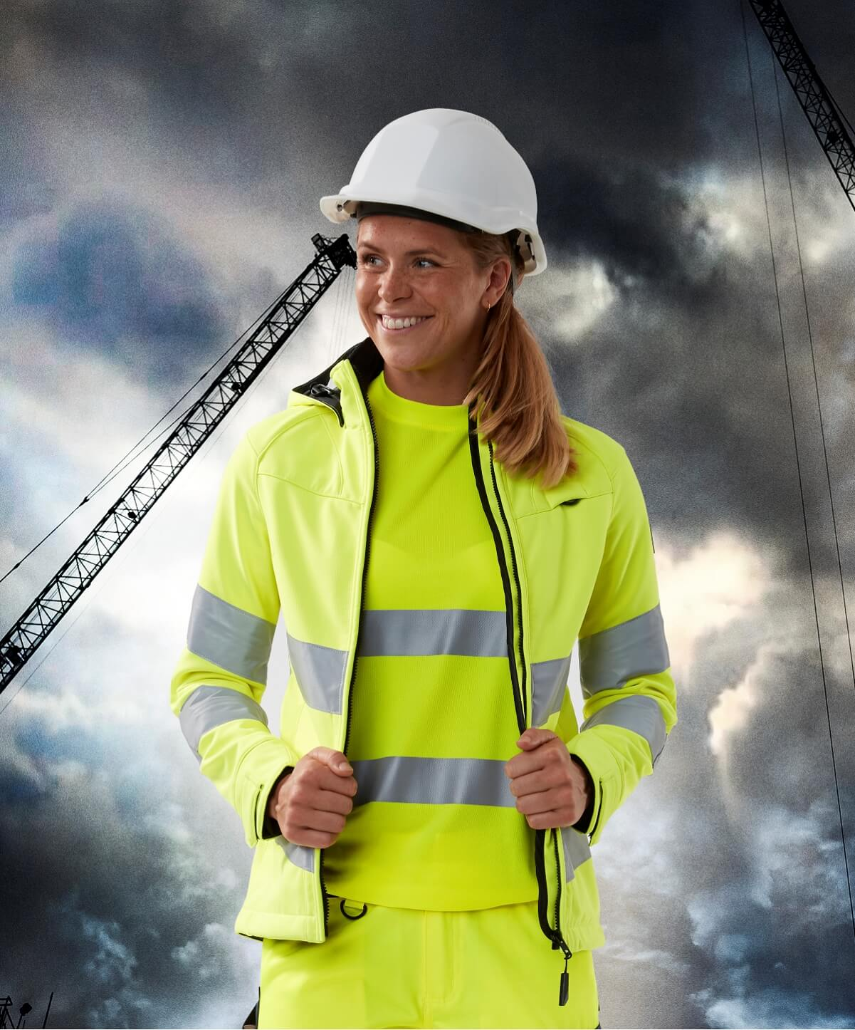 Workwear for women - MASCOT® SAFE SUPREME - Fluorescent yellow