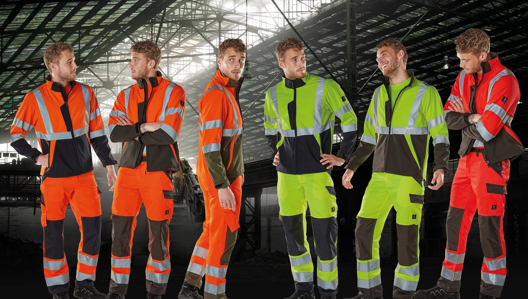 Hi-vis Jackets & Pants with kneepad pockets - MASCOT® SAFE LIGHT