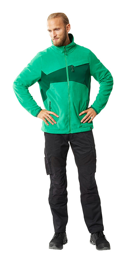 Jacket Green & Pants Black - MASCOT® ACCELERATE - Man