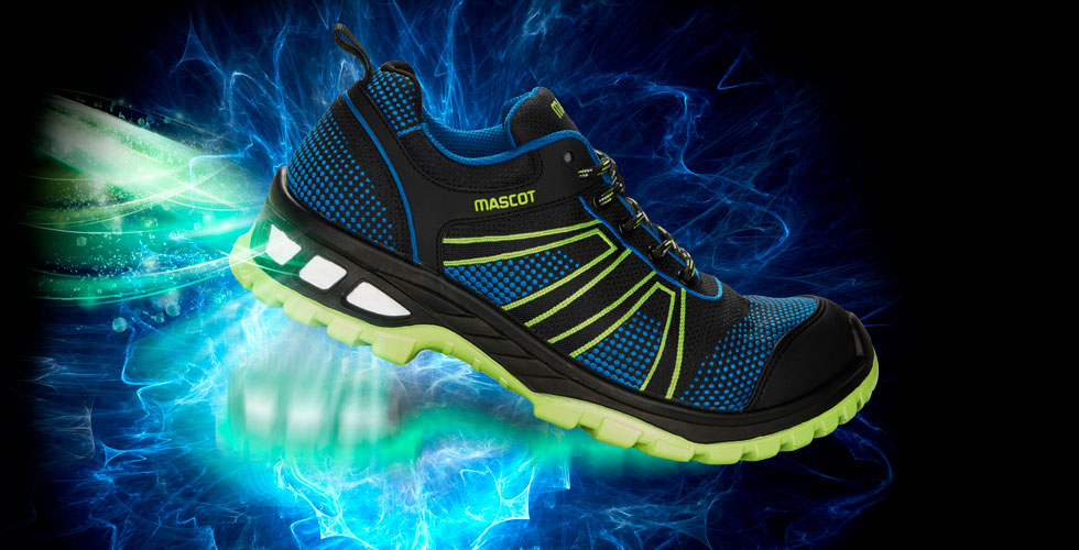 MASCOT® FOOTWEAR ENERGY - Safety Shoe - Shock-absorbing comfort sole