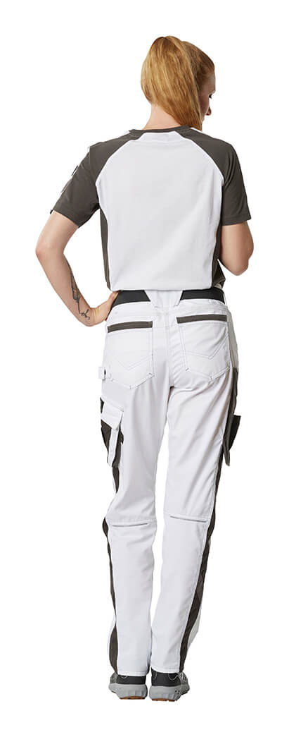 Woman - Work Pants & T-shirt - MASCOT® UNIQUE - White