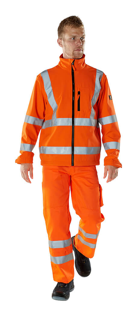 MASCOT® SAFE ARCTIC Hi-vis Clothing - Model - Fluorescent orange