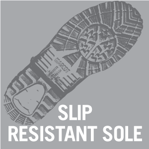 Ultra slip resistant sole