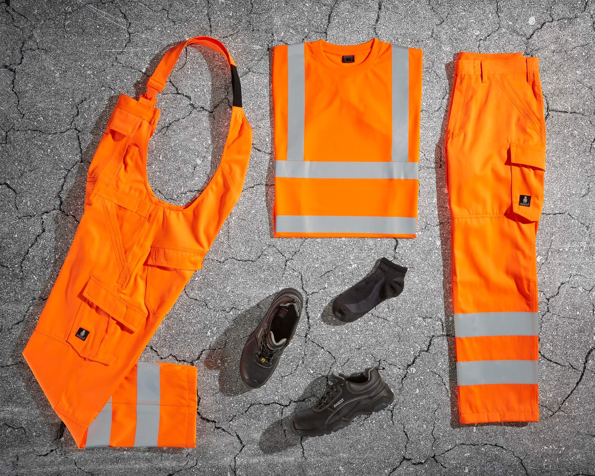 MASCOT® SAFE LIGHT - Fluorescent orange - Safety clothing
