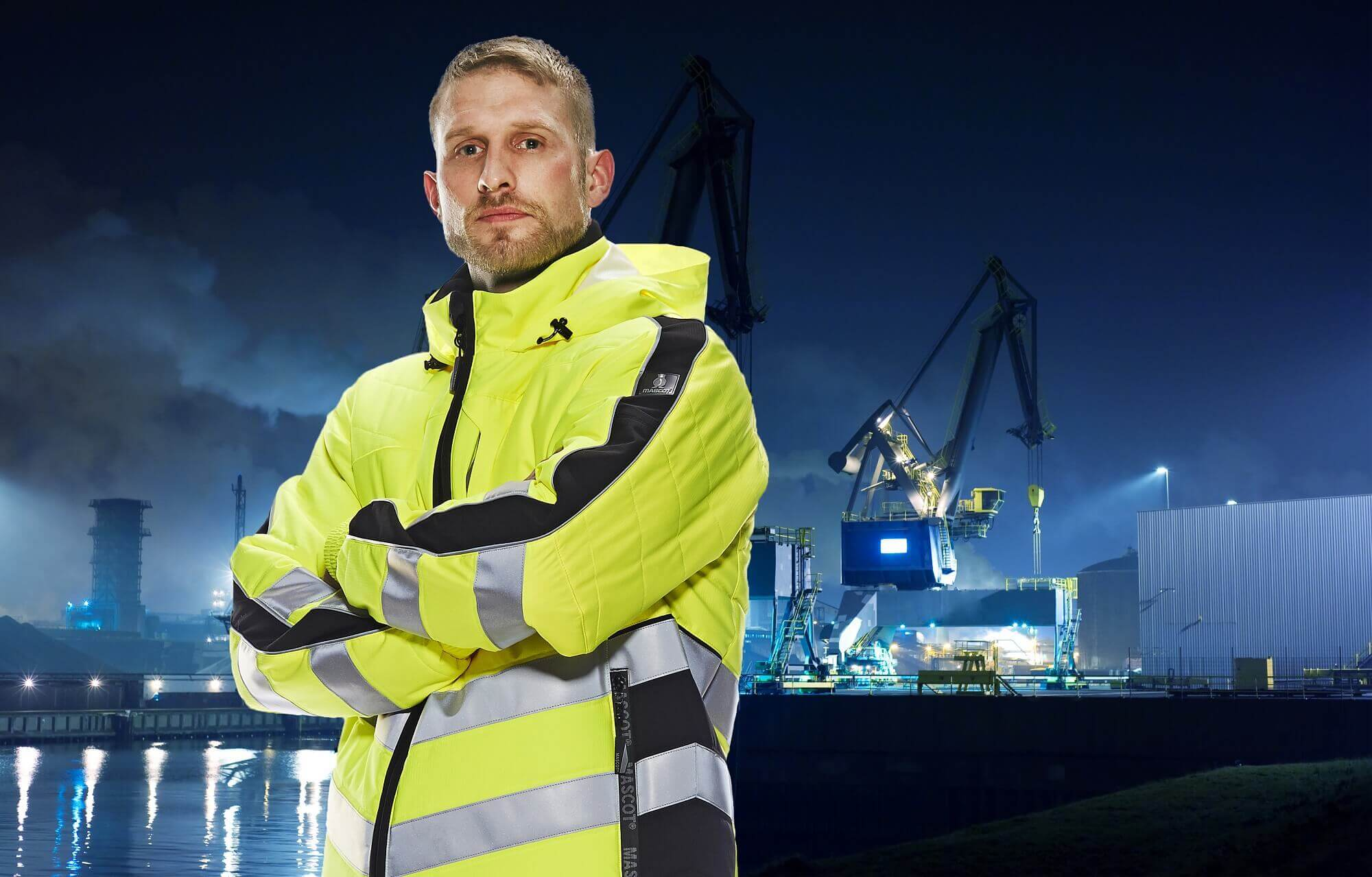 Work Jacket Fluorescent yellow - Man - Environment