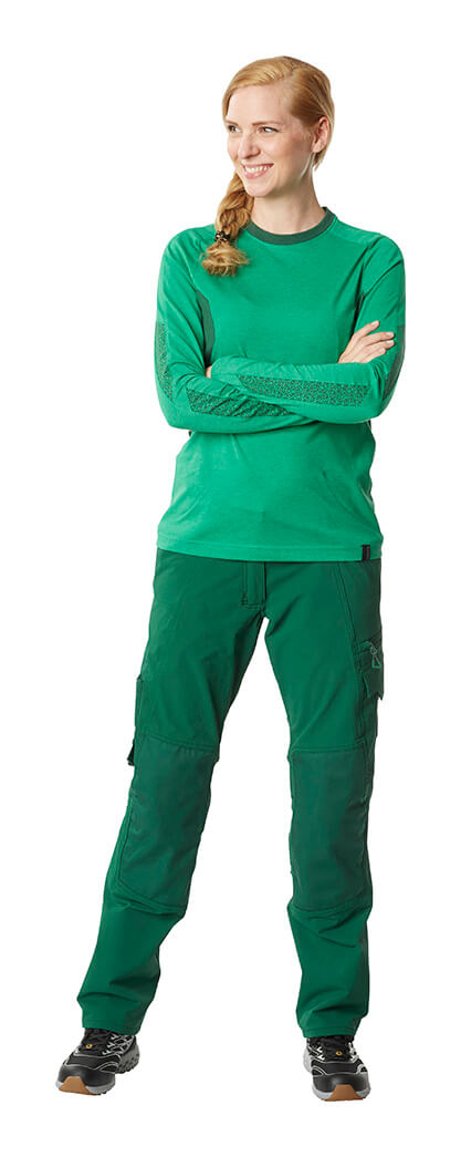 Pants & Jumper for women - Model - Green - MASCOT® ACCELERATE