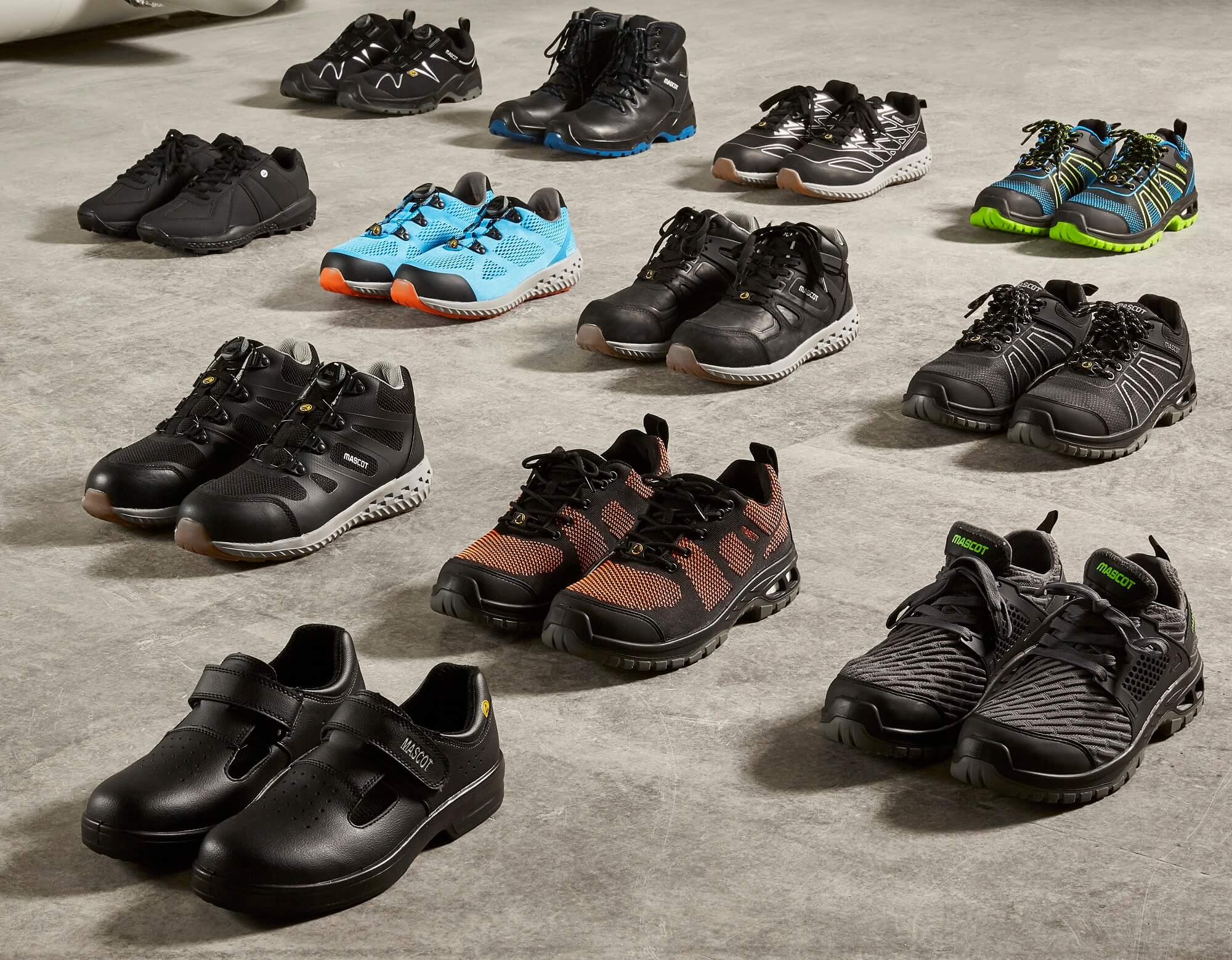 MASCOT® Footwear & Safety Shoe - Collage