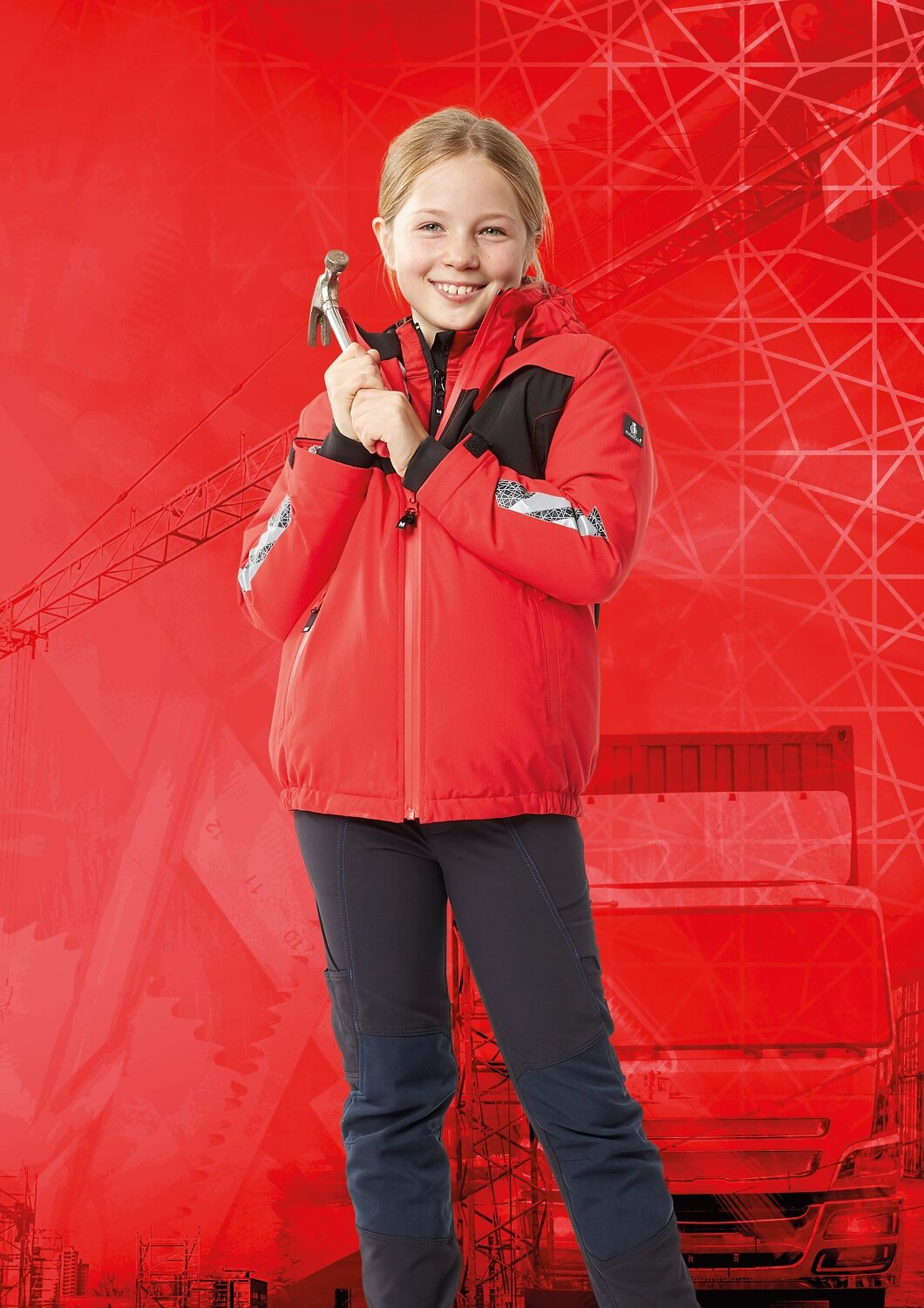Jacket for children & Pants - Red & Black - MASCOT® ACCELERATE