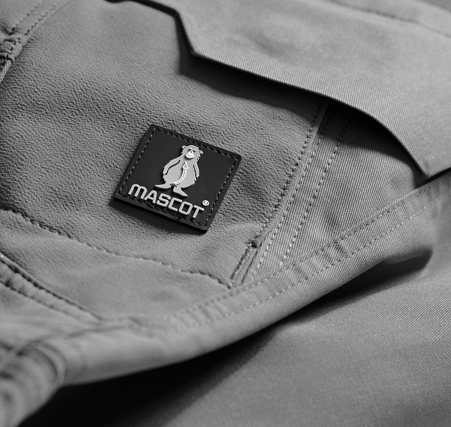 Pants Grey - Detail - MASCOT® ACCELERATE