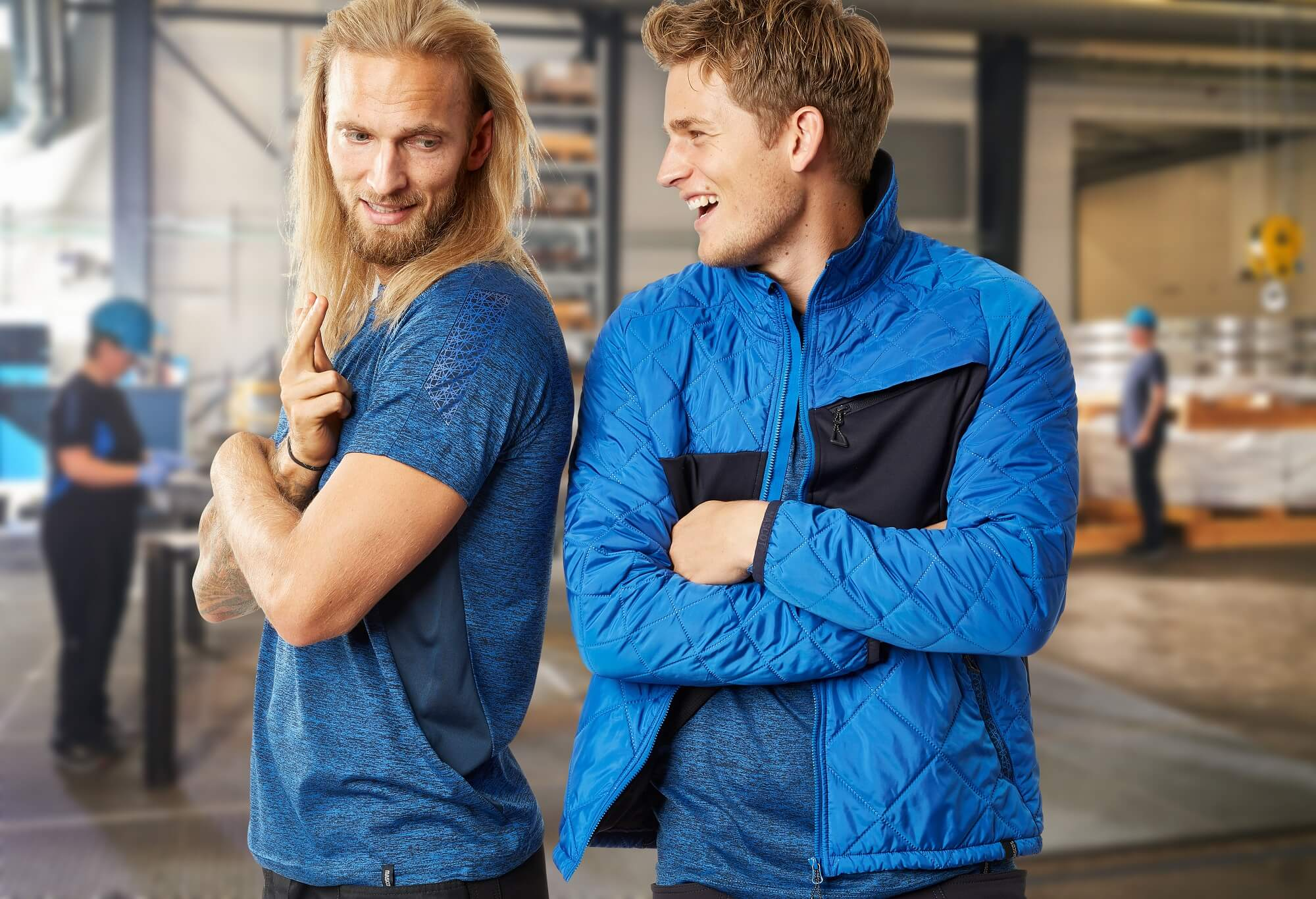 MASCOT® ACCELERATE Royal blue - 2 Men
