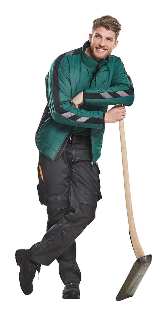 MASCOT® UNIQUE Workwear Green - Model