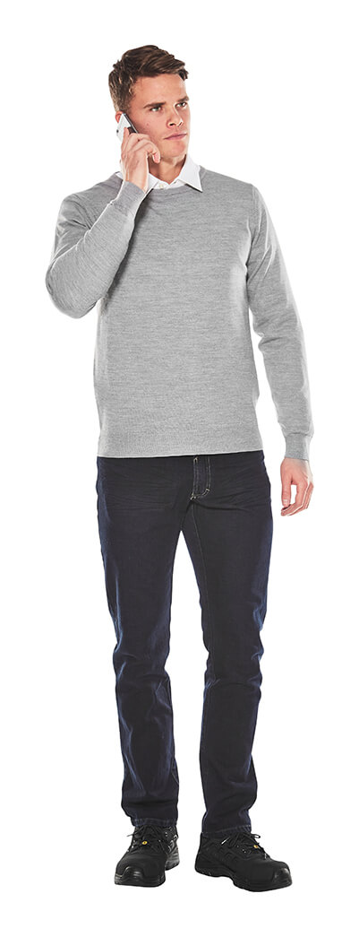 Man - Business Casual - Knitted Jumper - MASCOT® CROSSOVER