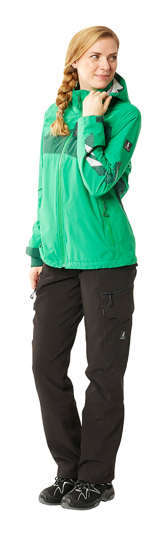 Green - Work Jacket & Pants - MASCOT® ACCELERATE - Woman