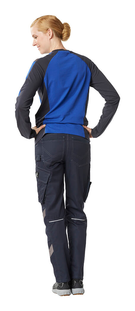 Work pants for women & T-shirt, long-sleeved - MASCOT® UNIQUE - Model