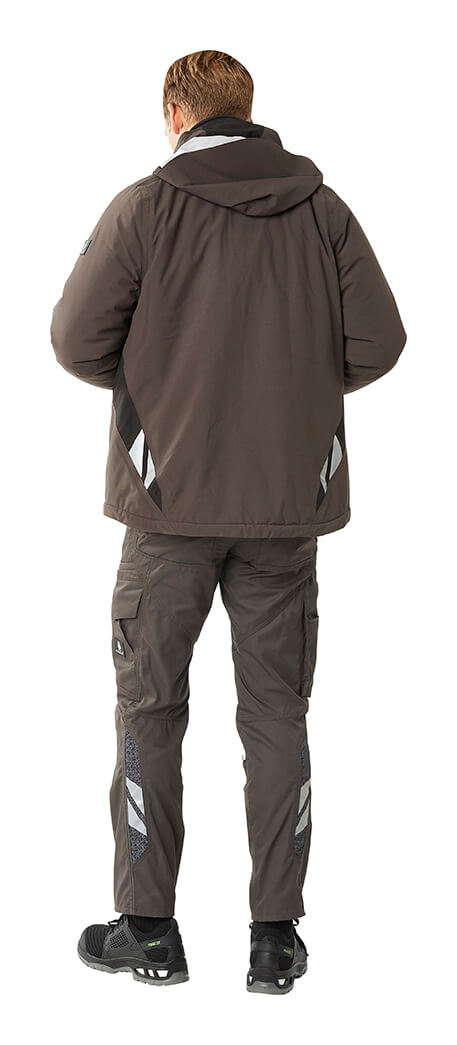 Grey - Pants & Work Jacket - Man - MASCOT® ACCELERATE