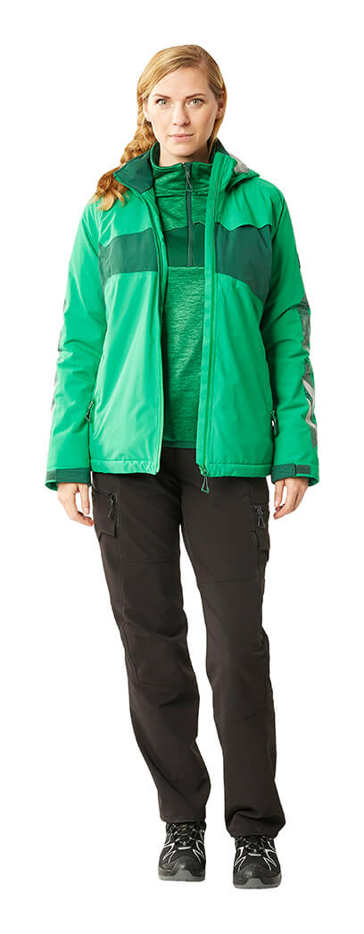 Jacket, Pants & Jumper for women - Green - MASCOT® ACCELERATE