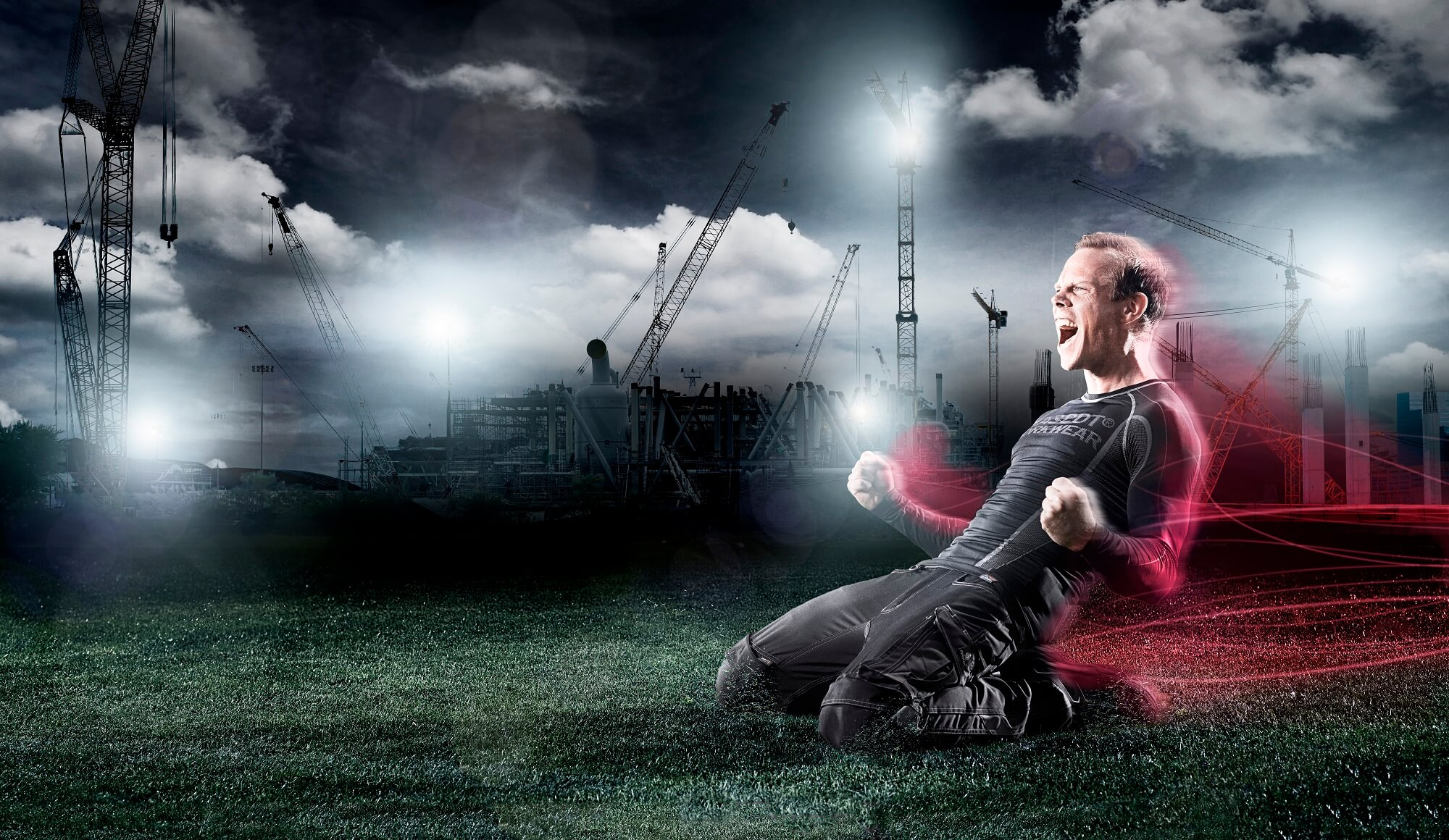 Football Field - Passion for soccer