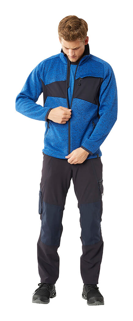 Royal blue & Black - Pants & Zipped Jumper - Man - MASCOT® ACCELERATE