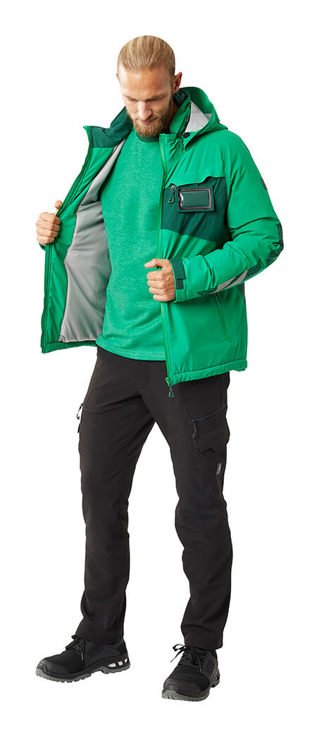 Man - Pants, Sweatshirt & Work Jacket - Green - MASCOT® ACCELERATE