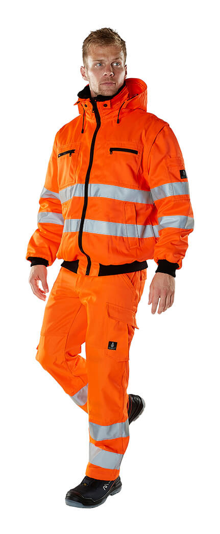 Winter Clothing - MASCOT® SAFE ARCTIC - Fluorescent orange - Model
