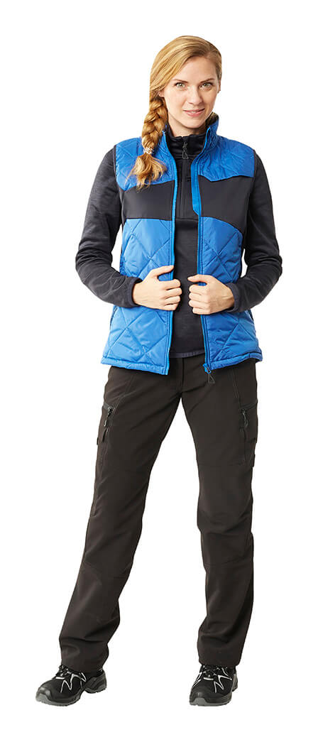 Royal blue & Black - Thermal Gilet, Jumper & Pants - MASCOT® ACCELERATE - Woman