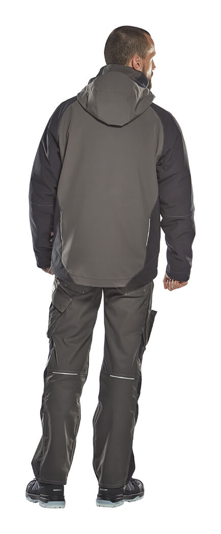 Man - Winter Softshell Jacket - Grey - MASCOT® UNIQUE