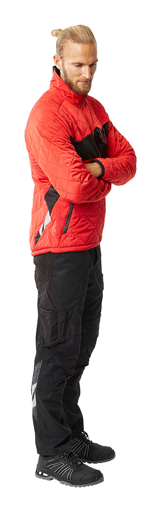 Thermal Jacket & Pants - Red - MASCOT® ACCELERATE - Man