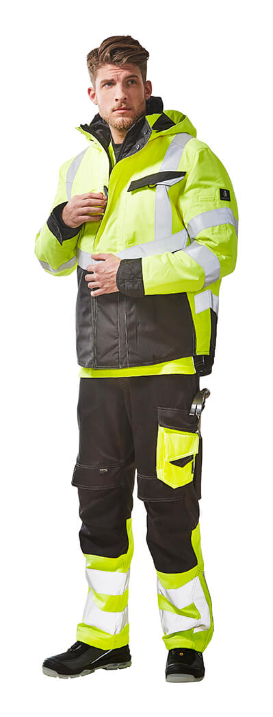 Work Jacket & Pants - MASCOT® SAFE SUPREME - Fluorescent yellow - Model
