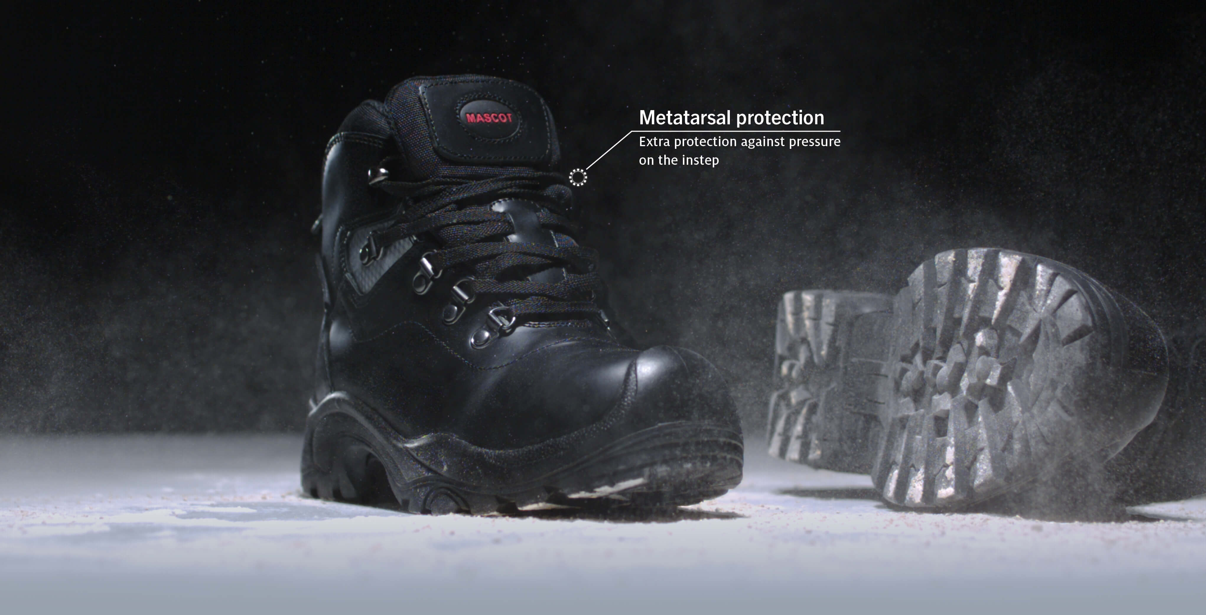 Have you considered metatarsal protection ?