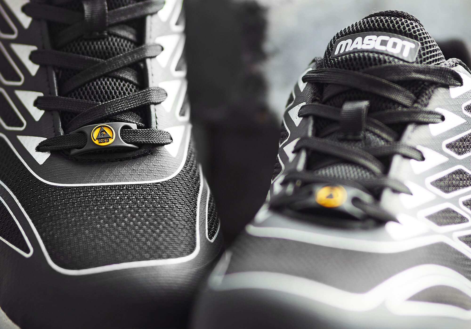 Safety Shoe - Black - MASCOT® FOOTWEAR MOVE