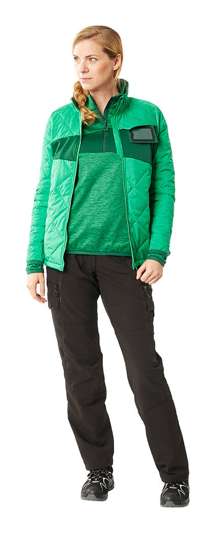 MASCOT® ACCELERATE Pants, Thermal Jacket & Jumper - Green - Woman