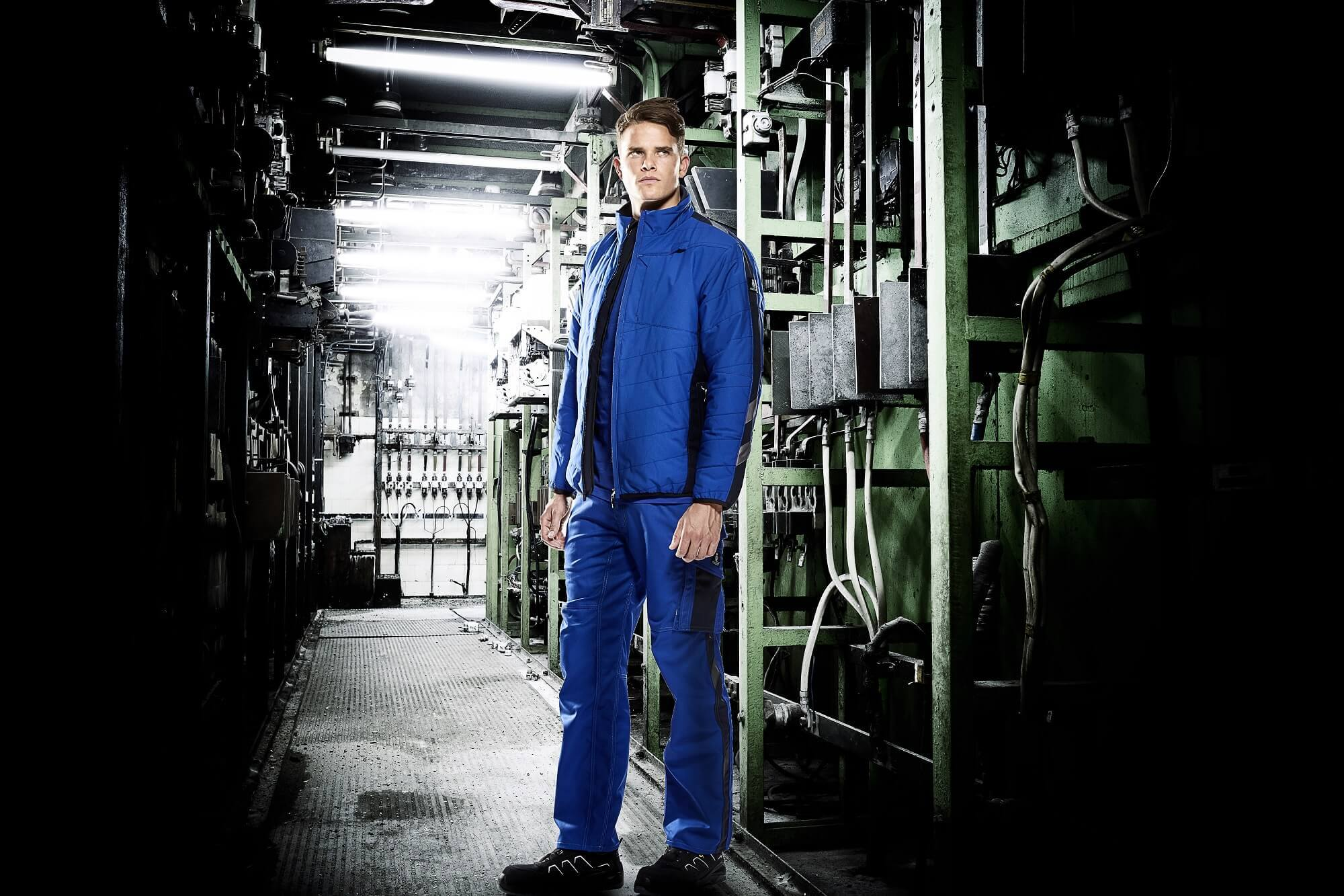 MASCOT® UNIQUE Thermal Jacket & Work Pants - Royal blue - Environment