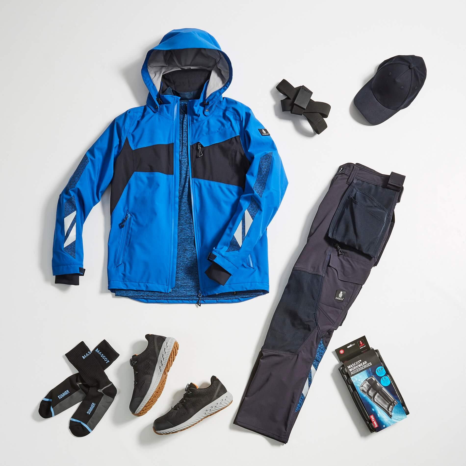 MASCOT® ACCELERATE - Work Pants, Jacket & Accessories - Collage