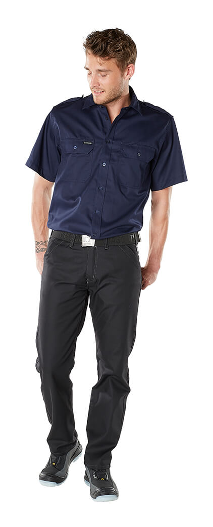 Model - Pants with thigh pockets & Work Shirt - FRONTLINE
