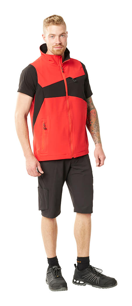 MASCOT® ACCELERATE Gilet, Short Sleeve T-shirt & Shorts - Man