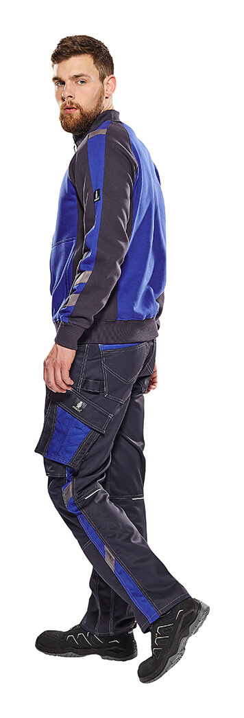 Sweatshirt & Work Pants - Royal blue - Man