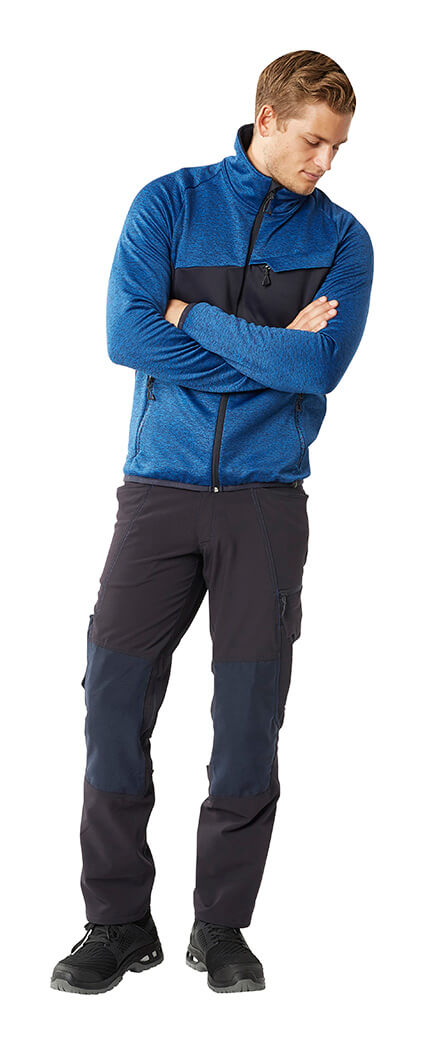 MASCOT® ACCELERATE - Man - Knitted Jumper with zipper & Work Pants