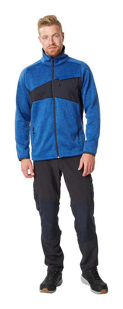 Pants & Work Jacket - Royal blue & Black - MASCOT® ACCELERATE - Man