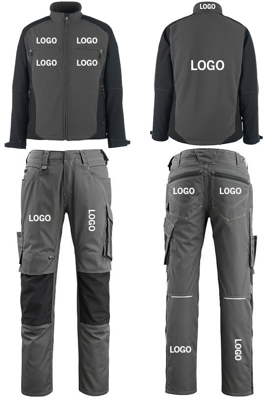 Work Jacket & Work Pants - Location and size - MASCOT