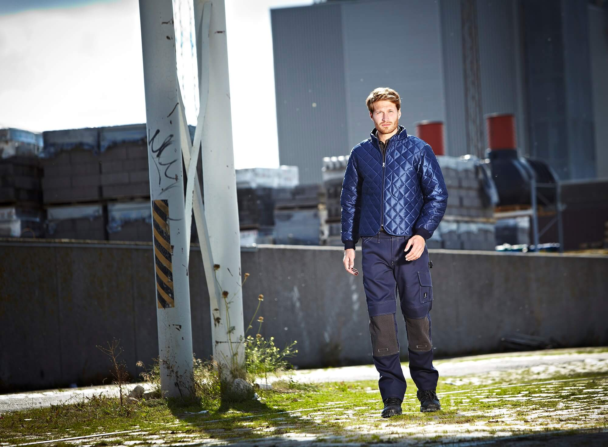 Environment - Thermal Jacket & Work Pants - Navy