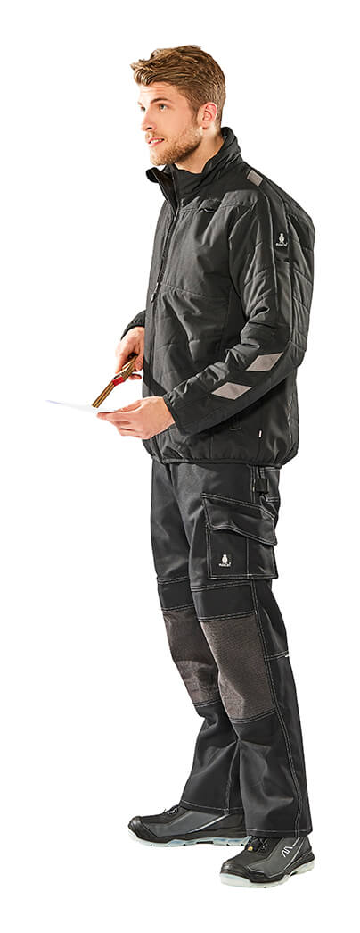 Thermal Jacket & Pants Black - MASCOT® UNIQUE - Model