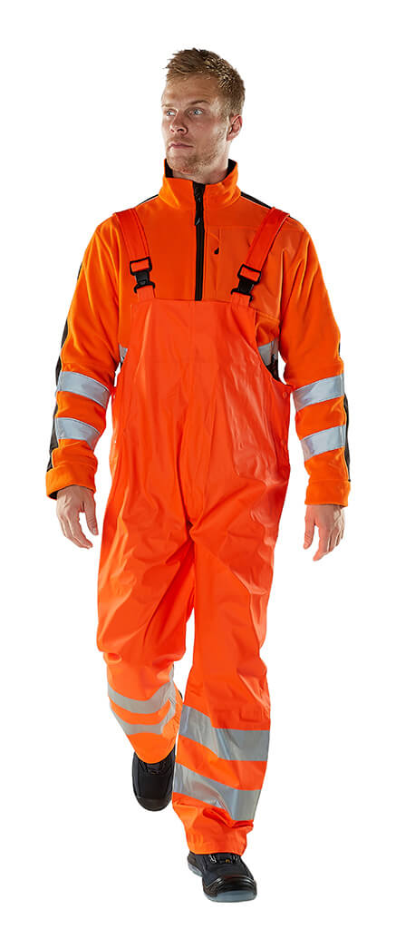 Waterproof Clothing Fluorescent orange - MASCOT® SAFE AQUA - Model