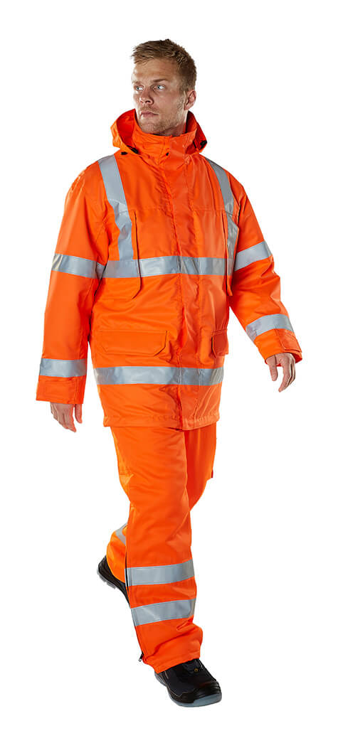 Model - Fluorescent orange Safety Clothing - MASCOT® SAFE ARCTIC