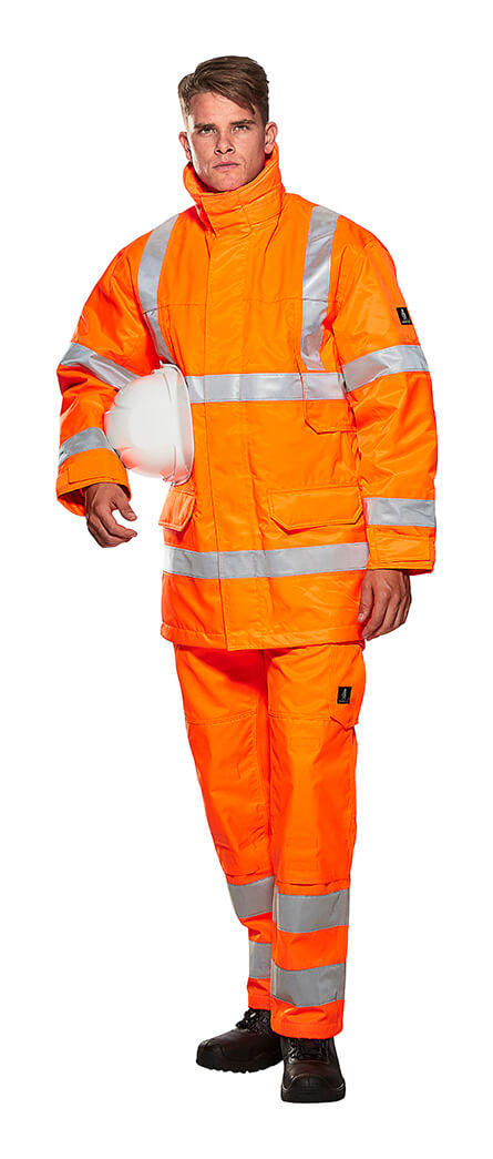 MASCOT® SAFE LIGHT Winter Clothing - Fluorescent orange - Model