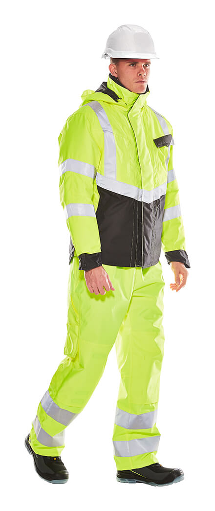 MASCOT® SAFE SUPREME Winter Clothing - Fluorescent yellow - Model