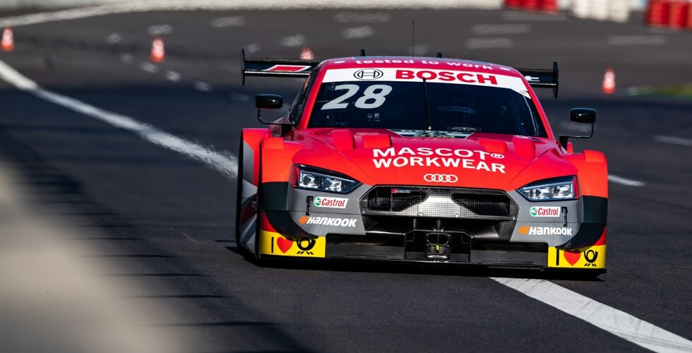 Let us present - MASCOT® WORKWEAR Audi RS 5 DTM